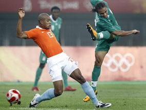 Олімпіада-2008: Голландія й Нігерія розійшлися миром