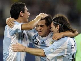 Олимпиада-2008: Аргентина побеждает на последних минутах