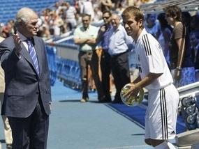 Реал представил ван дер Варта
