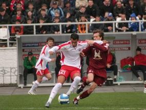 Чемпіонат Росії: Амкар знову втратив шанс стати першим