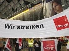 Lufthansa отменит 78 дальних рейсов из-за забастовки своих сотрудников