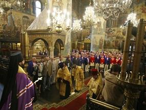 В Москве помолились за сборную России