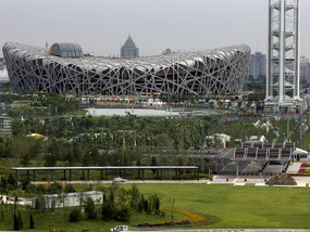 Олимпиада-2008: В Пекине заморозят стройки