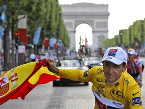 Олимпиада-2008: Победитель Тур де Франс выступит за сборную Испании