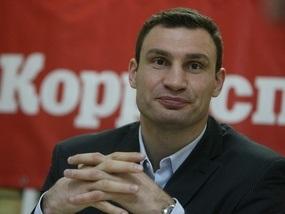 Виталий Кличко к бою с Питером будет готовиться в Киеве
