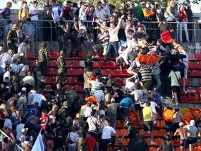 Фанатское побоище в Питере: Локомотив обвиняет