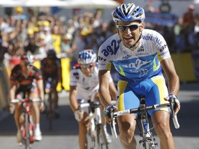 Тур де Франс: Попович - четвертый