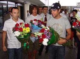 Звезды Барселоны прибыли в Узбекистан