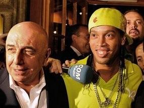 Роналдиньо получит в Милане 11 номер