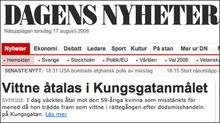 Шведи представили газетний телефон