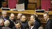 Партія регіонів вирішила розблокувати президію ВР - Луценко