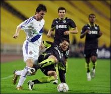Динамо програло шостий матч у Лізі Чемпіонів