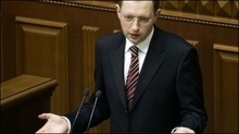 Яценюк залишив залу ВР, не оголошуючи перерву