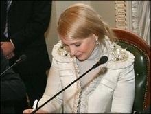 Тимошенко не захотіла зустрічатися з комуністами