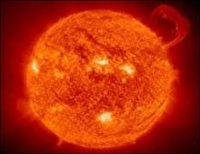 На Сонці з явилася гігантська пляма