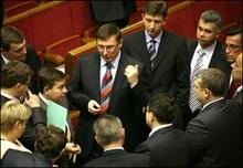 НУ-НС не підтримає Мартинюка, БЮТ спробує їх вмовити