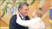 Ющенко вніс до ВР подання на призначення Тимошенко прем'єром