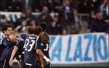 Три голи у воротах Лаціо