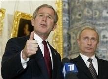 Прес-секретар Путіна розповів про розмову з Бушем