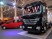 Mercedes-Benz Actros на 4 Международном салоне грузовых и коммерческих автомобилей ТIR'2008!