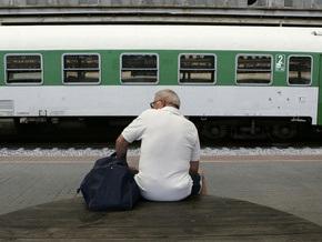 Из-за забастовки полностью прекращено движение поездов в Финляндии