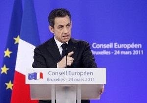 Саркози: ОАЭ предоставят 12 самолетов для участия в операции в Ливии