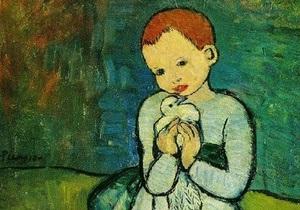 Christie s ищет покупателя для Ребенка и голубя Пикассо