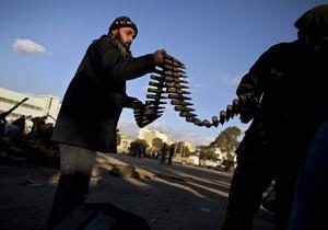 МИД Франции не нашел ничего противозаконного в поставках оружия ливийским повстанцам