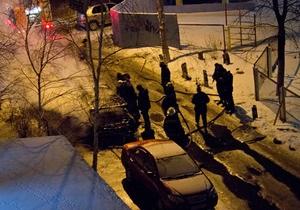 Ночью в Киеве на Троещине сгорел кроссовер