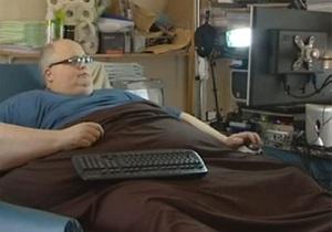 Самый толстый человек в мире напишет книгу о похудении