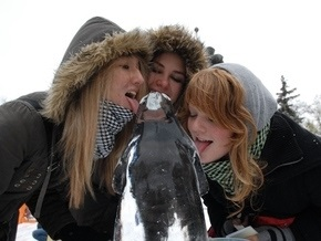 Сегодня в Киеве откроется выставка скульптур изо льда