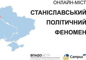 Трансляция первого в Украине дебатного онлайн-моста между Ивано-Франковском и Киевом