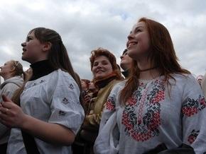 Украинцев призывают 21 августа одеть на работу вышиванки