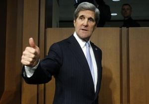 Керри официально займет должность госсекретаря в пятницу