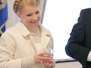 Тимошенко запретила спиртное на борту правительственного самолета