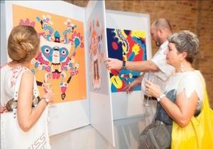 В Киеве впервые открылась выставка лауреата премии Каннские львы