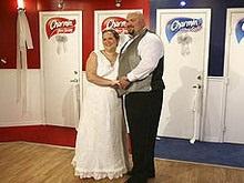 Американцы сыграли свадьбу в общественном туалете