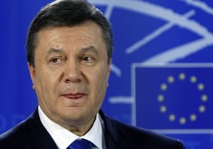 Солана: ЕС оценил то, что первый визит Янукович совершил в Брюссель
