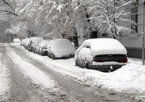Глава МЧС Украины предупредил о надвигающихся 30-градусных морозах