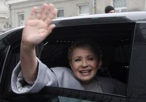 Тимошенко поздравила выпускников с последним звонком