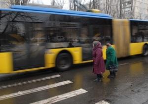 В Киеве задержали пьяного водителя троллейбуса