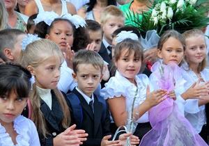 Почти половина одесских первоклассников начали обучение на русском языке