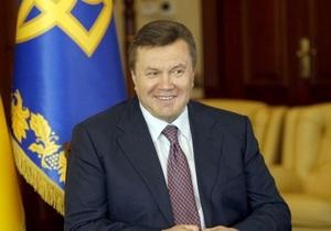 Янукович обещает, что русский язык  займет надлежащее место в жизни общества