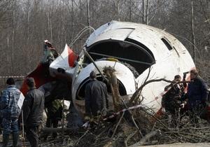 Записи пилотов разбившегося под Смоленском Ту-154 сильно зашумлены