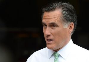 Ромни пообещал поддержку Израилю в случае удара по Ирану