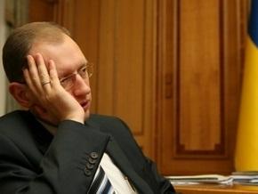 Яценюк: Изменения в закон о выборах – попытка фальсификации выборов