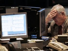 Индекс украинской биржи закрыл день снижением