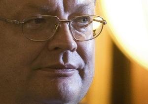 Грищенко: Киев намерен подписать соглашение об ассоциации с ЕС до конца года