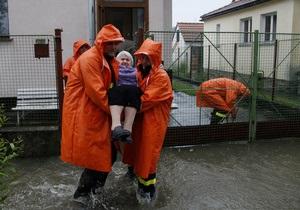 Жертвами наводнений в Европе стали трое людей, еще восемь остаются без вести пропавшими