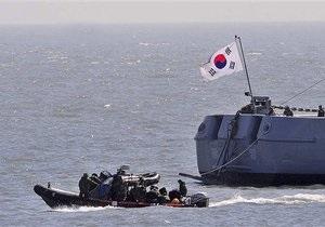 На месте катастрофы южнокорейского военного корабля пропало еще одно судно